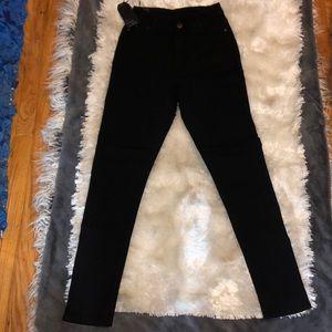Jeans - Black highwaisted jeans